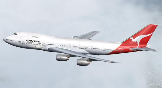 QANTAS Boeing