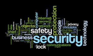 safety and security wordcloud